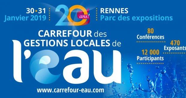 Dernière opportunité pour exposer sur le Village Innovation au Carrefour des Gestions Locales de l'Eau