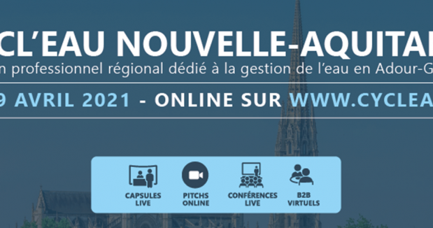 Cycl'Eau Nouvelle-Aquitaine, un salon 100% numérique