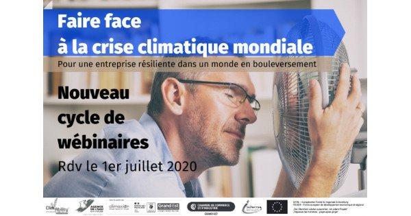 [Webinaires] Faire face à la crise climatique mondiale : pour une entreprise résiliente dans un monde en bouleversement