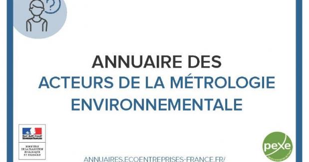 L'annuaire des acteurs de la métrologie environnementale
